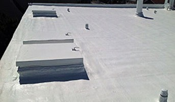 low slope roof