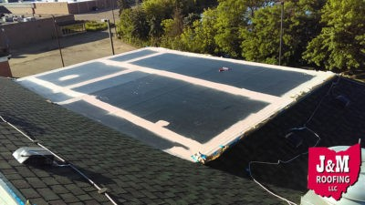 flat roof coating services