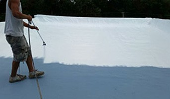 single ply membrane tab