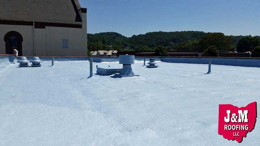 spray polyurethane foam roof coating