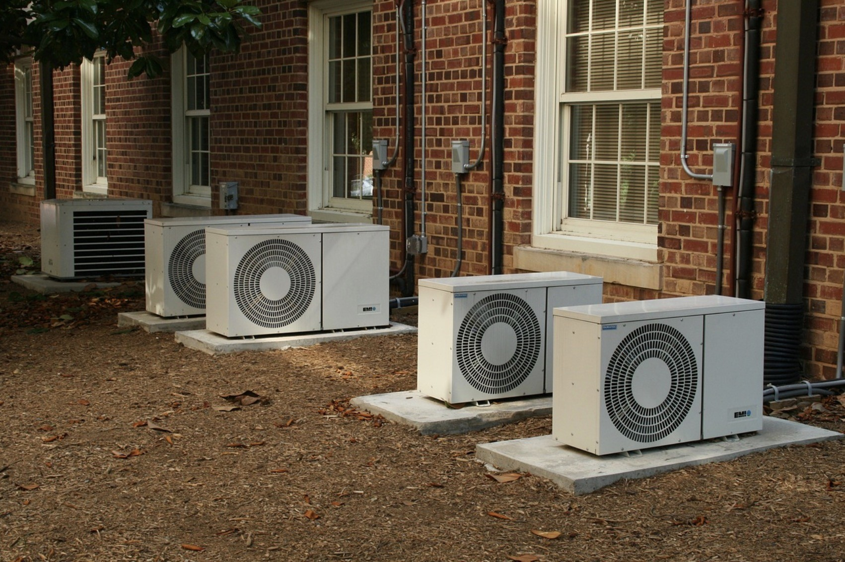 ac units of building