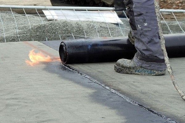 torchdown roofing modified bitumen