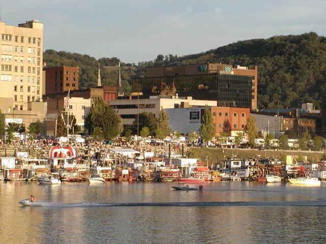 West Virginia cities.
